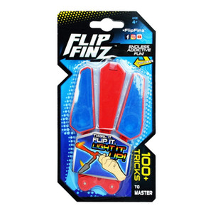 Wholesale LED Flip Finz Relief Toys Flip Finz Stress Reliever Light Up Butterfly Flipper Finger Hand EDC Toys Training Focus Spin DHL free