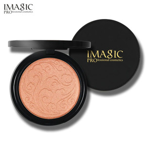 Wholesale makeup for contour resale online - IMAGIC High lighter Powder makeup professional brightening facial contour Highlighter Powder color for choose DHL free