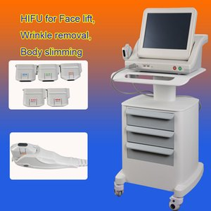 Wholesale Wrinkle Removal hifu machine for salon high intensity focused ultrasound Device hifu cartridge beuaty equipment shot