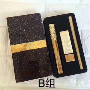 Wholesale 2019 Hot New Brand Makeup full size set Set Mascara Lipstick Eyeliner in1 SET styles Aset Bset Cosmetics