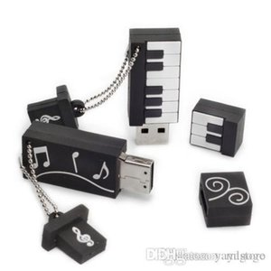 Wholesale New brand Bravo NEW ARRIVAL Sales promotion Genuine Cartoon Usb Flash Drive Keyboard Pendrive Electronic Organ Usb Memory U252