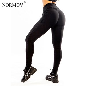 Wholesale S XL Women Push Up Leggings Sexy Polyester Large Size Black Slim Leggings High Waist Sexy Hip Solid Trousers for Women