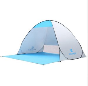 KEUMER Automatic Camping Tent Ship From RU Beach Tent 2 Persons Tent Instant Pop Up Open Anti UV Awning Tents Outdoor Smart health products