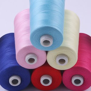 Free Postage DIY Sewing Machine Thread & Overlocker Thread Polyester 3000m x 2 REELS Top Quality - Many Colors for Choose CR-805