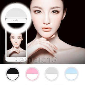 Wholesale USB Charge Selfie Portable Flash Led Camera Phone Photography Ring Light Enhancing Photography For iPhone Smartphone