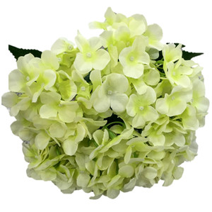 Wholesale artificial flowers silk hydrangea for festival decoration commercial decoration wedding aisle flower bouquet