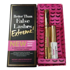 Wholesale Faced Better Than False Lashes Mascara D Formula Brush Fibers for Ridiculously Longer Thicker lashes Extreme Free Ship