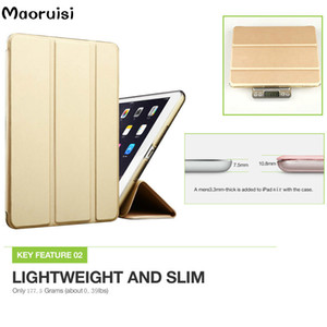 Wholesale Smart Case for ipad air air2 kenke Flip Ultra Thin Stand Cover for Apple Ipad 5 iPad6 case Wake Sleep for ipad air 1 2 case