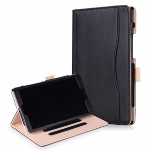 Wholesale Case For Huawei Mediapad M5 8.4 SHT-AL09 SHT-W09 Kemile Coloured drawing Ultra Slim Simplism Series Wake Fold Stand Leather+PEN
