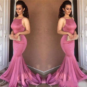 Wholesale Sexy Mermaid Evening Dresses 2019 High Quality Sleeveless Long Evening Dresses Imported China Formal Gowns Party Dress Women