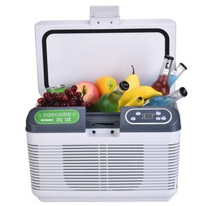 Wholesale 19L Auto Mini Refrigerator Portable Fridge Car Freezer Cooler Heater Dual Refrigeration System Daul Use Icebox LED Display