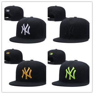 Wholesale Newest Arrival Online Shopping NY Adjustable Fashion Hat W Letters Snapback Cap Men Women Basketball Hip Pop