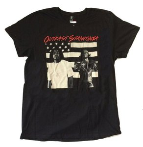 Outkast Stankonia Flag Black T Shirt New Official Merch Album Art