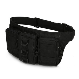 Wholesale Military Assault Hip Bum Fanny Pack Multi Pocket Chest Bags Pouch Loops Belt Purse Casual Men Waterproof Nylon Riding Waist Bag