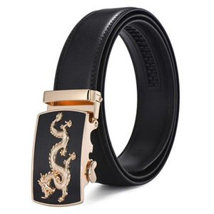 2018 High Quality Business Men Belts Automatic Buckle PU Leather Man Fashion Belts Classic Popular Luxury Black Belts Male Aa18