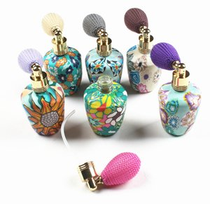Wholesale 15ml Chinese Style Perfume Bottle Women Glass Travel Spray Bottle Flacon Vide Cosmetique Parfum Case