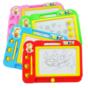 Wholesale Kids Magnetic Writing Painting Drawing Graffiti Board Toy Preschool Tool Children drawing Boys Girls board educational toy Y117