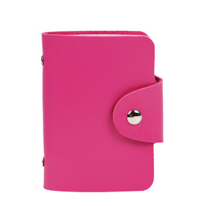 Wholesale Fashion PU Leather Function Bits Card Case Business Card Holder Men Women Credit Passport ID Passport Card Wallet