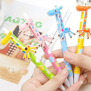 Wholesale baby showers favors resale online - Baby shower return gift cute deer ball pen kids birthday party favors