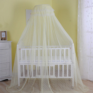 Wholesale High Quality Hot Selling X Summer Baby Bed Mosquito Net Mesh Dome Curtain Net for Toddler Crib Cot Canopy