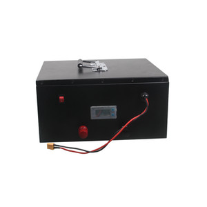 Wholesale power scooter batteries for sale - Group buy Customized S13P rechargeable v ah lithium battery with power switch and monitor for W electric motorcycle scooter