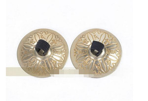 Wholesale 1pair woman belly dancing Finger Cymbals Copper Belly Dancing Accessories Decoration