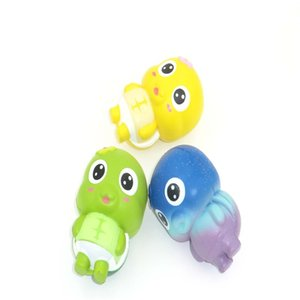 Wholesale Squishy Little Turtle Decompression Toy Cute Simulation Animal Shape Squishies Slow Rising Squeeze Toys Kid Gift Multi Color xm C
