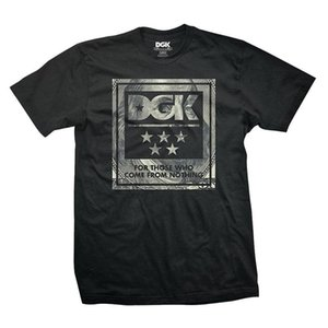 DGK Men's Dead President T Shirt Black Tee T-Shirts Skate Clothing Apparel