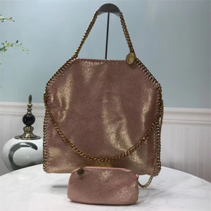 Wholesale Classic 2020 portable chain with buckskin texture glossy pearl series, with soft messenger bag large 38X35X6.5CM handbag 401