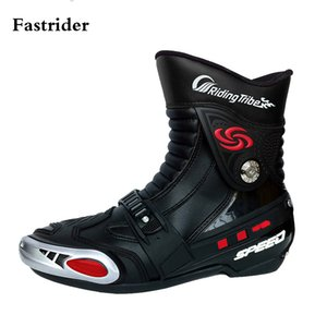 Wholesale Fastrider Over Ankle Motocycle Boots Dirt Bike Off Road Racing Riding Shoes Moto Motocross Racing Boots Black big black