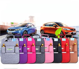 Wholesale Car Storage Bag Universal Box Back Seat Bag Organizer Backseat Holder Pockets Car styling Protector Auto Accessories For kid