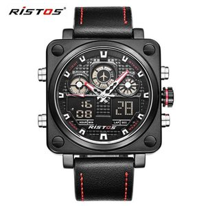 Wholesale LONGBO unique precision chronograph men s multi function waterproof luxury sports watch military leather simulation fashion watch