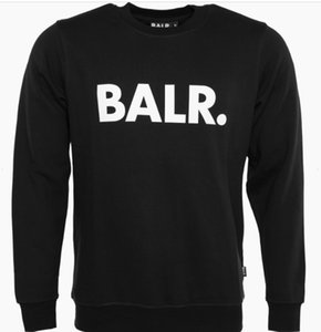 High quality BALR Hoodies Men hip hop Pullovers hoodies&sweatshirt winter warm fleece caots and jacket ball fans sweatshirt hoodie D20 on Sale