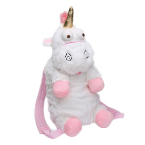 Children's cute large unicorn lovely handbags backpack plush doll doll children's kindergarten spring tour lovely bag