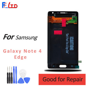 Wholesale Original LCD for Samsung Galaxy Note Edge LCD Display Digitizer Touch Screen Replace N9150 N915f N915v Free DHL Shipping