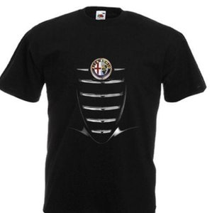 "NEW T-SHIRT ""THE MOST BEAUTIFUL CARS ALFA ROMEO BRERA"" DTG PRINTED TEE- S- 6XL"