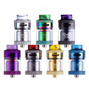 Wholesale thread 25mm for sale - Group buy 100 Authentic Hellvape Dead Rabbit RTA ml ml mm Diameter Rebuildable Atomizer With Drip Tips Fit For Thread Box Mod
