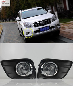Wholesale Car Fog Lights For TOYOTA LAND CRUISER PRADO FJ150 2010-2013 Front Bumper Fog Lamp Replace Assembly kit (one Pair)