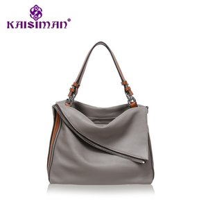 Wholesale NEW Genuine Leather Women Shoulder Bags Long Strap Messenger Tote Bag Handbags Lady Satchel Loui Luxury Personality Famous Brand