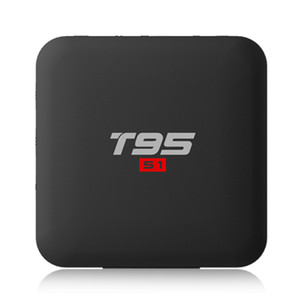 Wholesale 14PCS Original T95 S1 GB GB GB GB Android tv box Amlogic S905W QuadCore support k Youtube Netflix G Wifi
