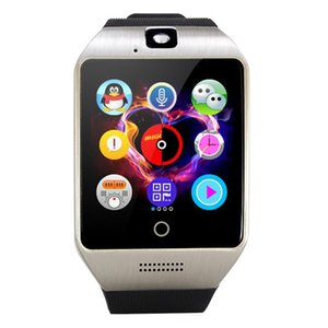 Wholesale Pewant Smart Watch Q18 Touch Screen Big Battery Support TF Sim Card Camera for Android Phone Passometer SmartWatch