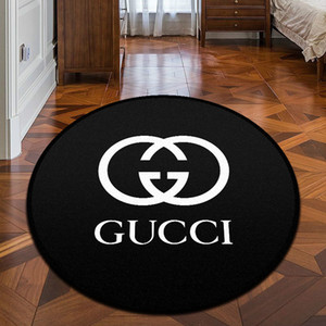 Wholesale New Arrvial Brand Logo Pattern Carpet Fashion Anti Slip Carpet New Home Decor Doormat Kitchen Bathroom Livingroom Floor Mat Home Supplies