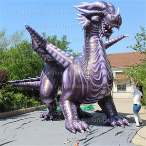 8m inflatable flying dragon mascot outdoors promotional inflatable flying dragon cartoon