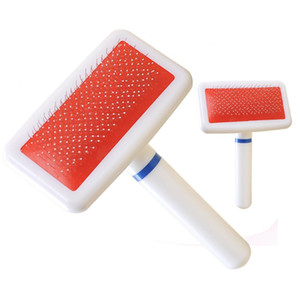Wholesale Pet Grooming Brush Dog Cat Air Cushion Slicker Brush Combs Easily Removes Mats and Tangles from the Pets Coat