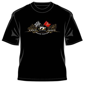 2017 Official Isle of Man TT Races Gold Bikes T'Shirt mens pride dark?t-shirt white black grey red trousers tshirt