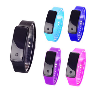 Wholesale Relogios Feminino Design LED Sport Watch Men Women Fashion Cheap Electronic Digital Watches Life Bracelet Waterproof wristwatch