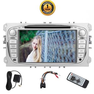 Wholesale multimedia audio video player resale online - 7 quot Double Din Car DVD Multimedia Player For Ford Octa Core GB GB in Dash GPS Navigation Head Unit Autoradio Bluetooth Video Audio
