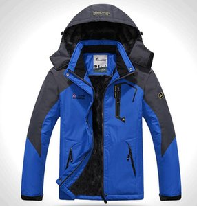 Wholesale Couples with women and men all appropriate New thermal Warm Winter Jacket Men Coat outwear Waterproof Windproof men's jacket Hood