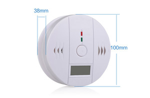 DLM2 10pc Wireless Battery-operated gas alarm security system Alert Smoke Carbon Monoxide CO Detectors Gas Alarm 10A