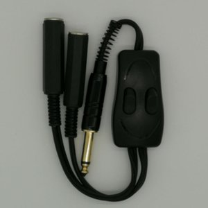 Brand New Double Tattoo Clip Cord Connecting Power Supply Convertor For Tattoo Machines 2 Way Working For Same Time